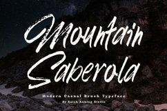 Brush Font - Mountain Saberola Product Image 1