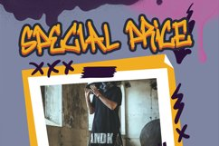 Wall Bomber - Urban Graffiti Font Product Image 10