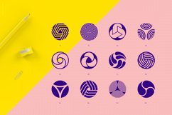96 Geometric shapes & logo marks collection Vol.1 Product Image 2