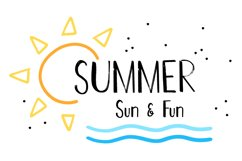 Hot Summer Textured Font Product Image 2