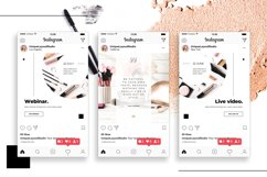 Beauty Instagram 18 Posts Template | CANVA Product Image 2