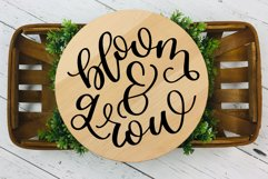 Bloom and Grow, Spring Garden SVG Cut File Product Image 3