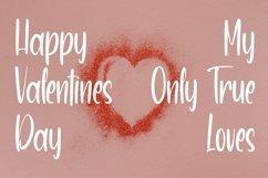 Web Font LovelyDay - Pretty Script Font Product Image 5