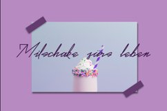 Real Violet - Signature Style Font // Web Font Product Image 3