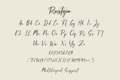 Rustgia - Handwritten Script Product Image 6