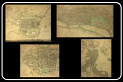 Vintage Antique City World Maps! 32 JPG Files Product Image 6