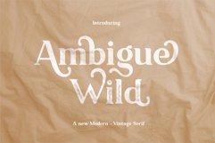 Ambigue Wild Product Image 1