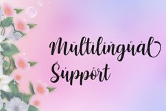 Nattasha | A Calligraphy Font Product Image 5