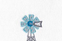 African Windmill Appliqué Machine Embroidery Download Product Image 4
