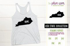 Kentucky Home - SVG design Product Image 1