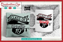 Class of 2019 thru 2031 Graduation Cap SVG Cut File BUNDLE Product Image 3