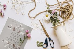 Leafy Wedding Invitation Product Image 3