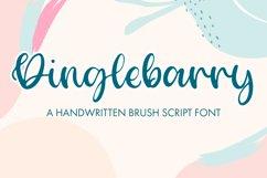 Dinglebarry - A Handwritten Brush Script Product Image 1