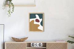Abstract Shapes Print, Boho Decor, Mid Century Modern Art Product Image 3