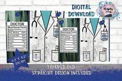HealthCare 20oz Skinny Tumbler Sublimation Design Bundle Product Image 6