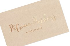 Bonbons -modern calligraphy script font with gold and silve Product Image 6