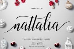 Nattalia Script Product Image 1