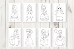Princess coloring pages Product Image 2