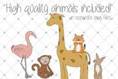 Space, Animal, Cartoon, Nursery, Rocket, Clipart, Boys, Product Image 2