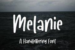 Web Font Melanie - A Handlettering Font Product Image 1