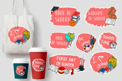 Typography. School Background. Sale tag Product Image 1