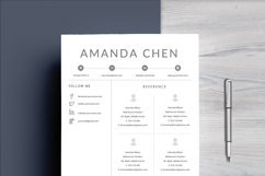 Clean Professional Resume Template Word Product Image 6