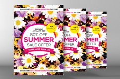 Summer Sales Flyer Template Product Image 2