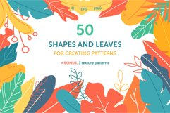 Shapes and leaves for creating patterns Product Image 1