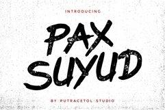 Suyud - Brush Font Product Image 1