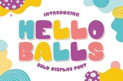 Hello Balls - Bold Font Product Image 1