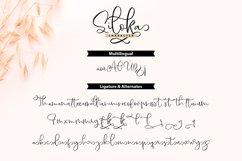 Siloka | Script Font Product Image 4