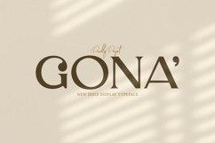 Web Font Gona Product Image 1