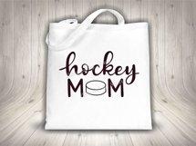 Hockey mom SVG - Sports mom SVG file, handlettered Product Image 3