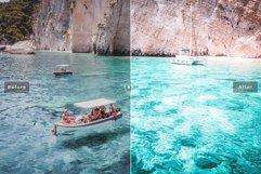 Blue Lagoon Mobile & Desktop Lightroom Presets Product Image 4
