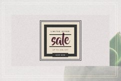 GRUNGE Facebook sale and quote pack Product Image 8