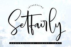 Setfairly | Handwriting Script Font Product Image 1