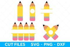 Pencil SVG Files for Cricut and Silhouette Pencil SVG Bundle Product Image 1