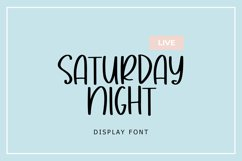 Milk White Display Font Product Image 2