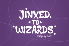 Jinxed to wizard Product Image 1