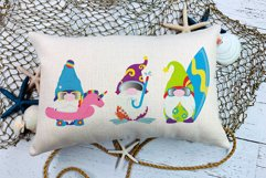 Sublimation Designs For T Shirts Summer Gnomes   Beach Gnome Product Image 4
