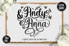 Andy & Anna - Beauty Lovely Font Product Image 1