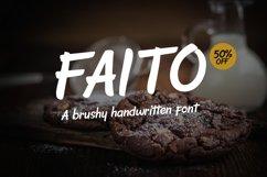 Faito Font Product Image 1