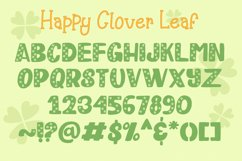Happy Clover Font Duo Product Image 5