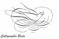 Calligraphic Birds Product Image 1