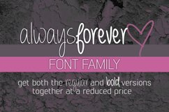 Always Forever Font Family Product Image 1
