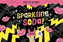 Sparkling Attack Font Product Image 2