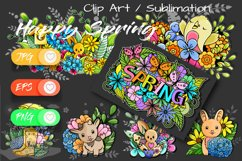 7x Easter and Spring - Mini Bundle - Print and Sublimation Product Image 2