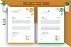 Letterhead/Cover Letter Vector Template Product Image 1