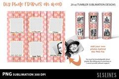 DIY Photo Frames on Wood - Tumbler Sublimation Designs 20o Product Image 2