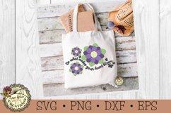 Flower SVG Bundle-Inspirational Words-Spring Flowers Bundle Product Image 4